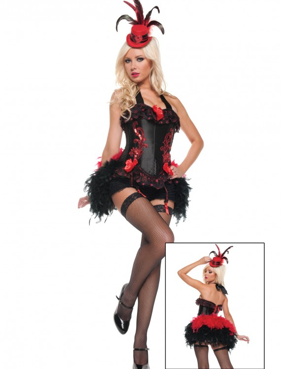 Sexy Moulin Madame Costume, halloween costume (Sexy Moulin Madame Costume)