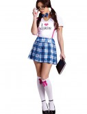 Sexy Nerd School Girl Costume, halloween costume (Sexy Nerd School Girl Costume)