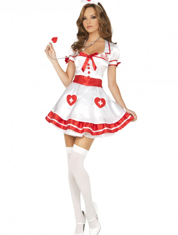Sexy Nurse Kandi Costume, halloween costume (Sexy Nurse Kandi Costume)