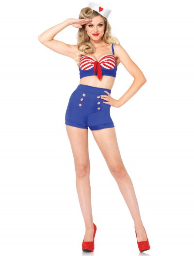 Sexy On Deck Darling Sailor Costume, halloween costume (Sexy On Deck Darling Sailor Costume)