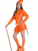 Sexy Orange Tuxedo Costume, halloween costume (Sexy Orange Tuxedo Costume)