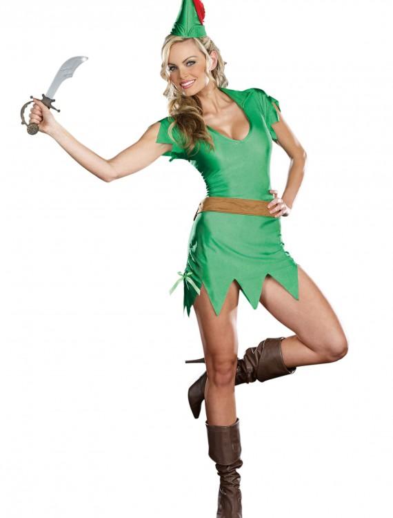 Sassy Peter Pan Costume, halloween costume (Sassy Peter Pan Costume)