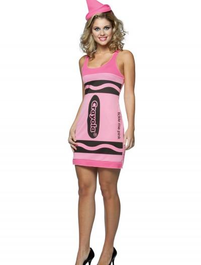 Sexy Pink Crayon Dress, halloween costume (Sexy Pink Crayon Dress)