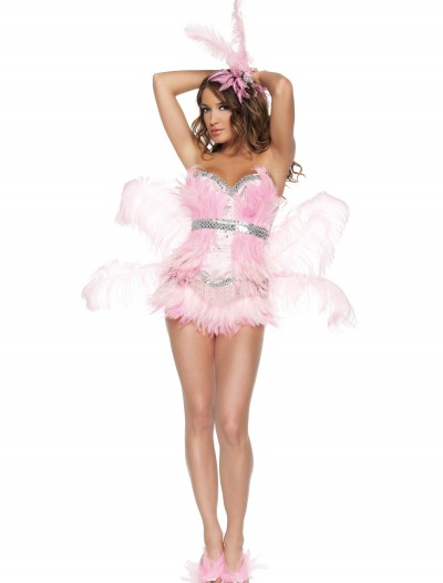 Sexy Pink Flamingo Costume, halloween costume (Sexy Pink Flamingo Costume)