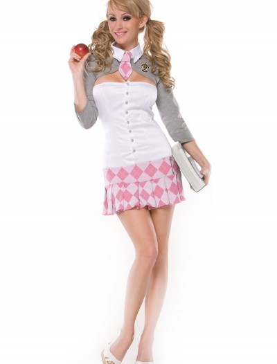 Sexy Pink School Girl Costume, halloween costume (Sexy Pink School Girl Costume)
