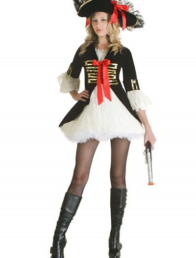 Sexy Pirate Captain Costume, halloween costume (Sexy Pirate Captain Costume)