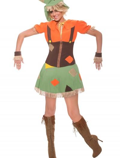 Sexy Plus Size Scarecrow Costume, halloween costume (Sexy Plus Size Scarecrow Costume)