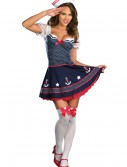 Sexy Polka Dot Sailor Costume, halloween costume (Sexy Polka Dot Sailor Costume)