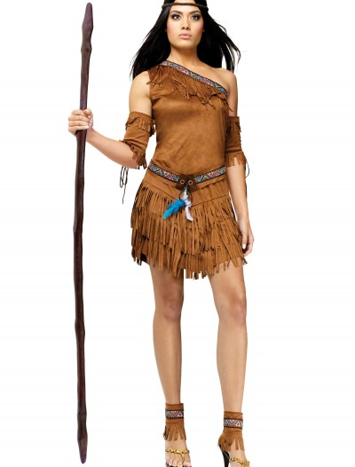 Sexy Pow Wow Indian Costume, halloween costume (Sexy Pow Wow Indian Costume)