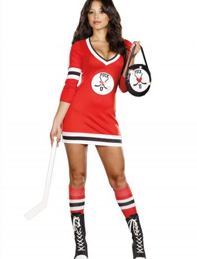 Sexy Puck U Hockey Costume, halloween costume (Sexy Puck U Hockey Costume)
