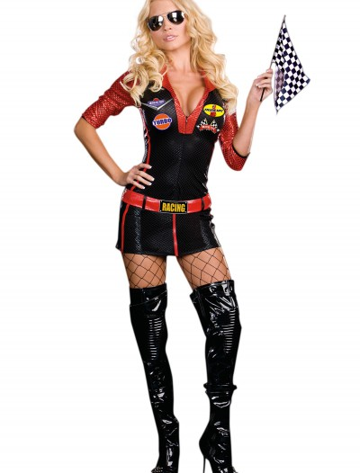 Sexy Race Car Driver Costume, halloween costume (Sexy Race Car Driver Costume)