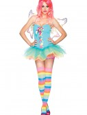 Sexy Rainbow Fairy Costume, halloween costume (Sexy Rainbow Fairy Costume)