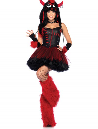 Sexy Rebel Monster Costume, halloween costume (Sexy Rebel Monster Costume)