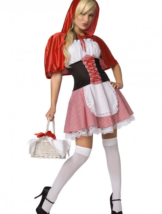 Sexy Red Riding Hood Costume, halloween costume (Sexy Red Riding Hood Costume)