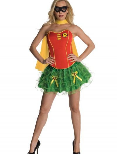 Sexy Robin Corset Costume, halloween costume (Sexy Robin Corset Costume)