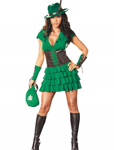Sexy Robyn Da Hood Plus Size Costume, halloween costume (Sexy Robyn Da Hood Plus Size Costume)