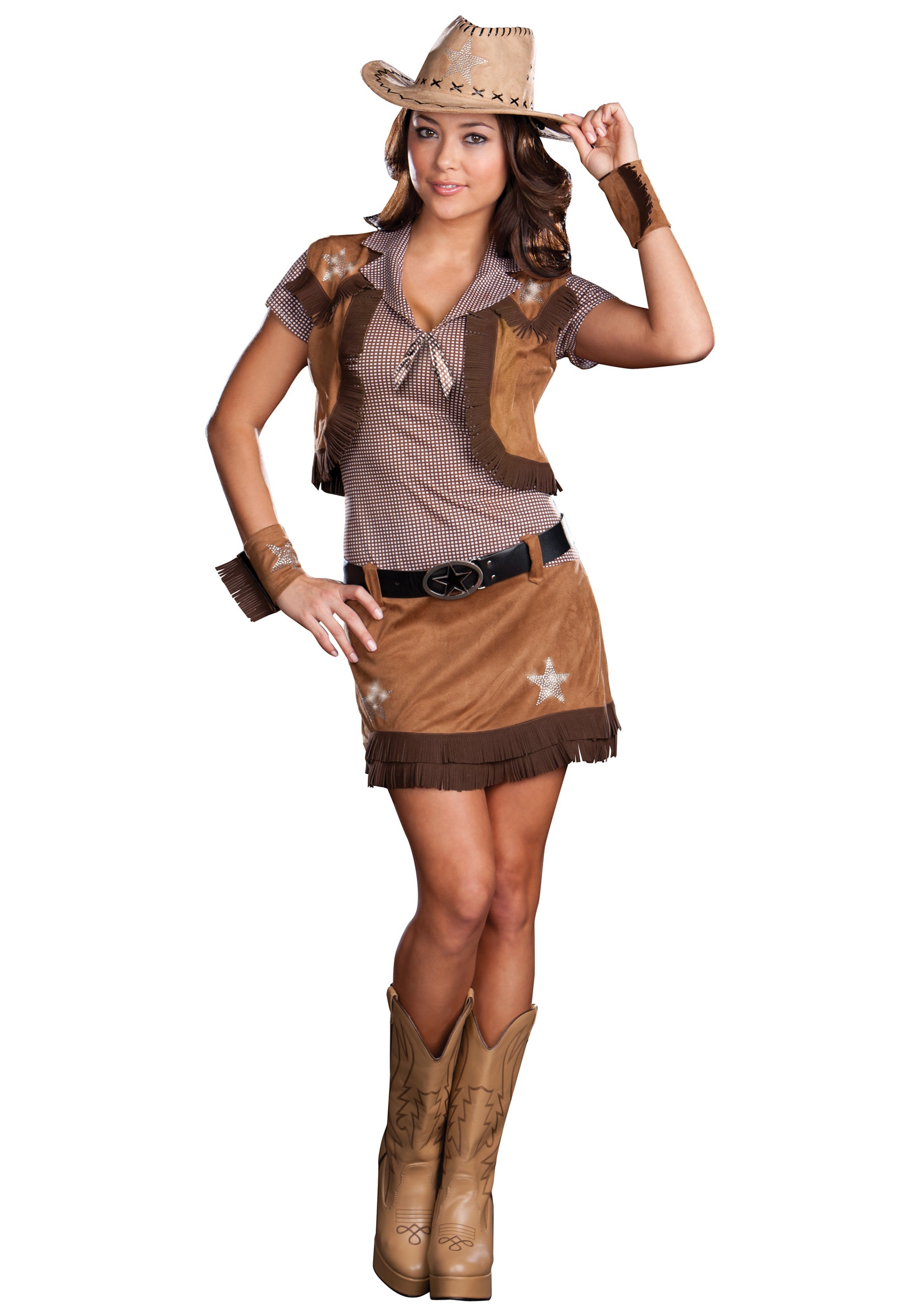sexy rodeo cowgirl costume