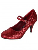 Sexy Red Glitter Shoes, halloween costume (Sexy Red Glitter Shoes)