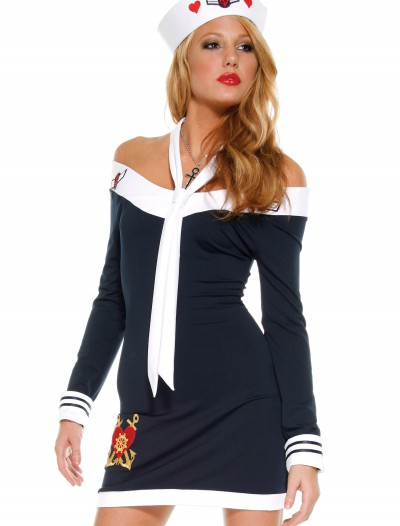 Sexy Sailor Dress, halloween costume (Sexy Sailor Dress)