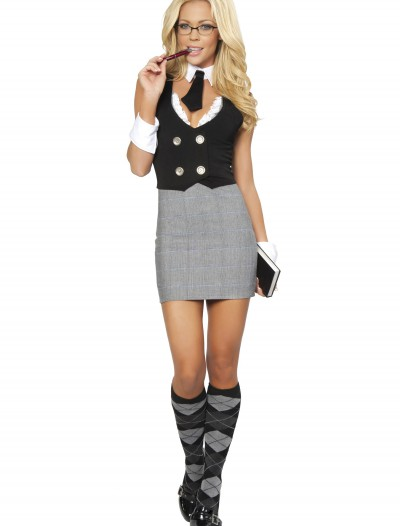 Sexy School Teacher Costume, halloween costume (Sexy School Teacher Costume)