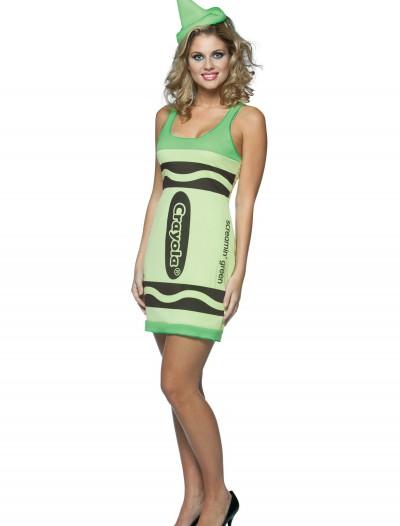 Sexy Screamin' Green Crayon Dress, halloween costume (Sexy Screamin' Green Crayon Dress)