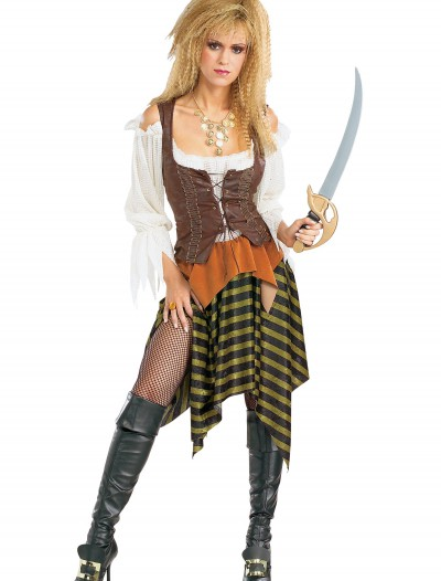 Sexy Sea Wench Pirate Costume, halloween costume (Sexy Sea Wench Pirate Costume)