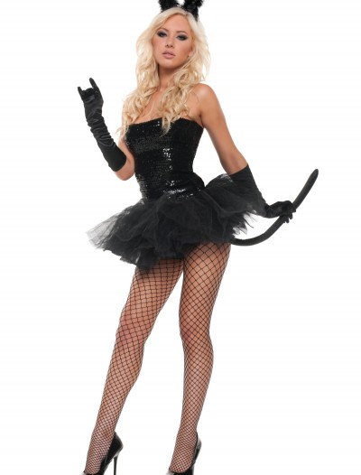 Sexy Sequin Kitty Costume, halloween costume (Sexy Sequin Kitty Costume)