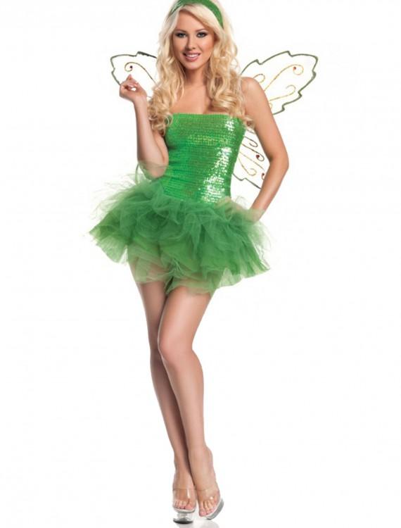 Sexy Sequins Fairy Costume, halloween costume (Sexy Sequins Fairy Costume)
