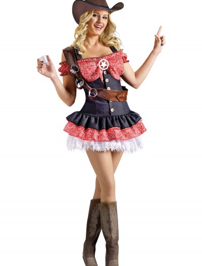 Sexy Shotgun Sheriff Costume, halloween costume (Sexy Shotgun Sheriff Costume)