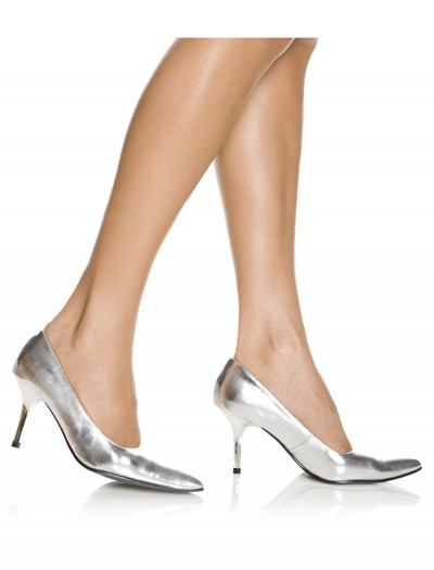 Sexy Silver High Heels, halloween costume (Sexy Silver High Heels)