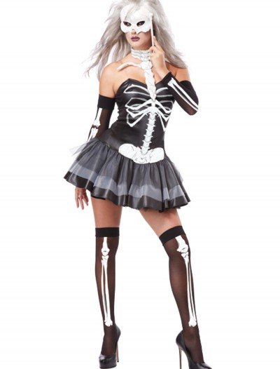 Sexy Skeleton Masquerade Costume, halloween costume (Sexy Skeleton Masquerade Costume)