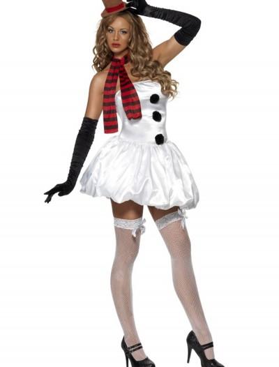 Sexy Snowman Costume, halloween costume (Sexy Snowman Costume)
