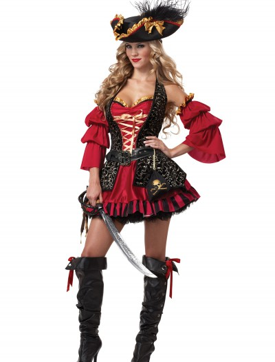 Sexy Spanish Pirate Costume, halloween costume (Sexy Spanish Pirate Costume)