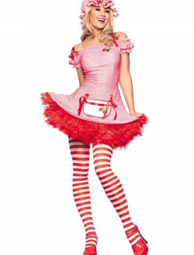 Sexy Strawberry Dessert Costume, halloween costume (Sexy Strawberry Dessert Costume)