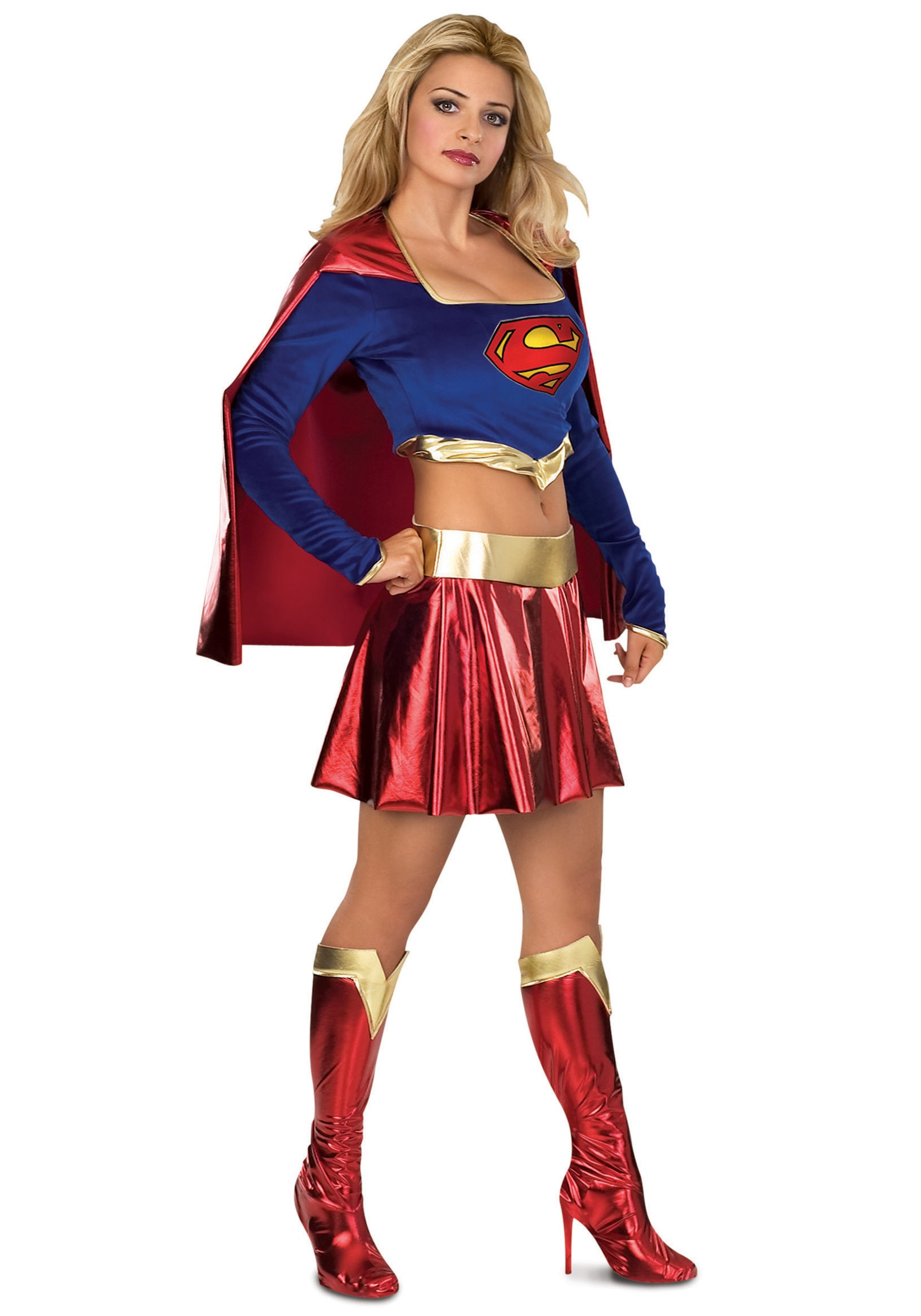 Sexy Supergirl Costume  sc 1 st  Halloween Costumes & Sexy Supergirl Costume - Halloween Costumes
