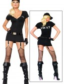 Sexy SWAT Commander Costume, halloween costume (Sexy SWAT Commander Costume)