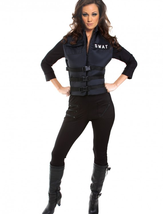 Sexy SWAT Girl Costume, halloween costume (Sexy SWAT Girl Costume)