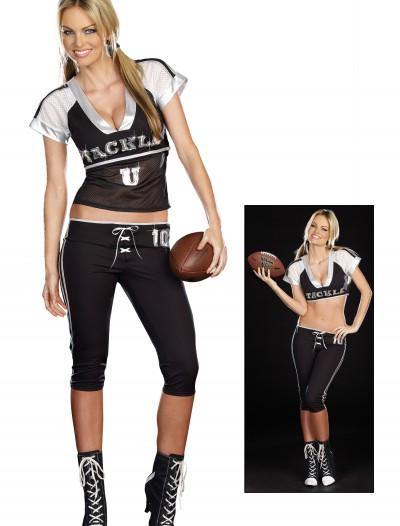 Sexy Tackle U Football Costume, halloween costume (Sexy Tackle U Football Costume)