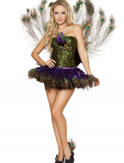Sexy Tempting Peacock Costume, halloween costume (Sexy Tempting Peacock Costume)