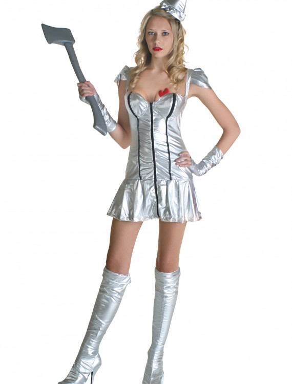 Sexy Metal Girl Costume, halloween costume (Sexy Metal Girl Costume)