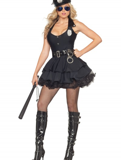 Sexy Tutu Cop Costume, halloween costume (Sexy Tutu Cop Costume)