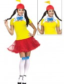 Sexy Tweedle Dee/Dum Adult Costume, halloween costume (Sexy Tweedle Dee/Dum Adult Costume)