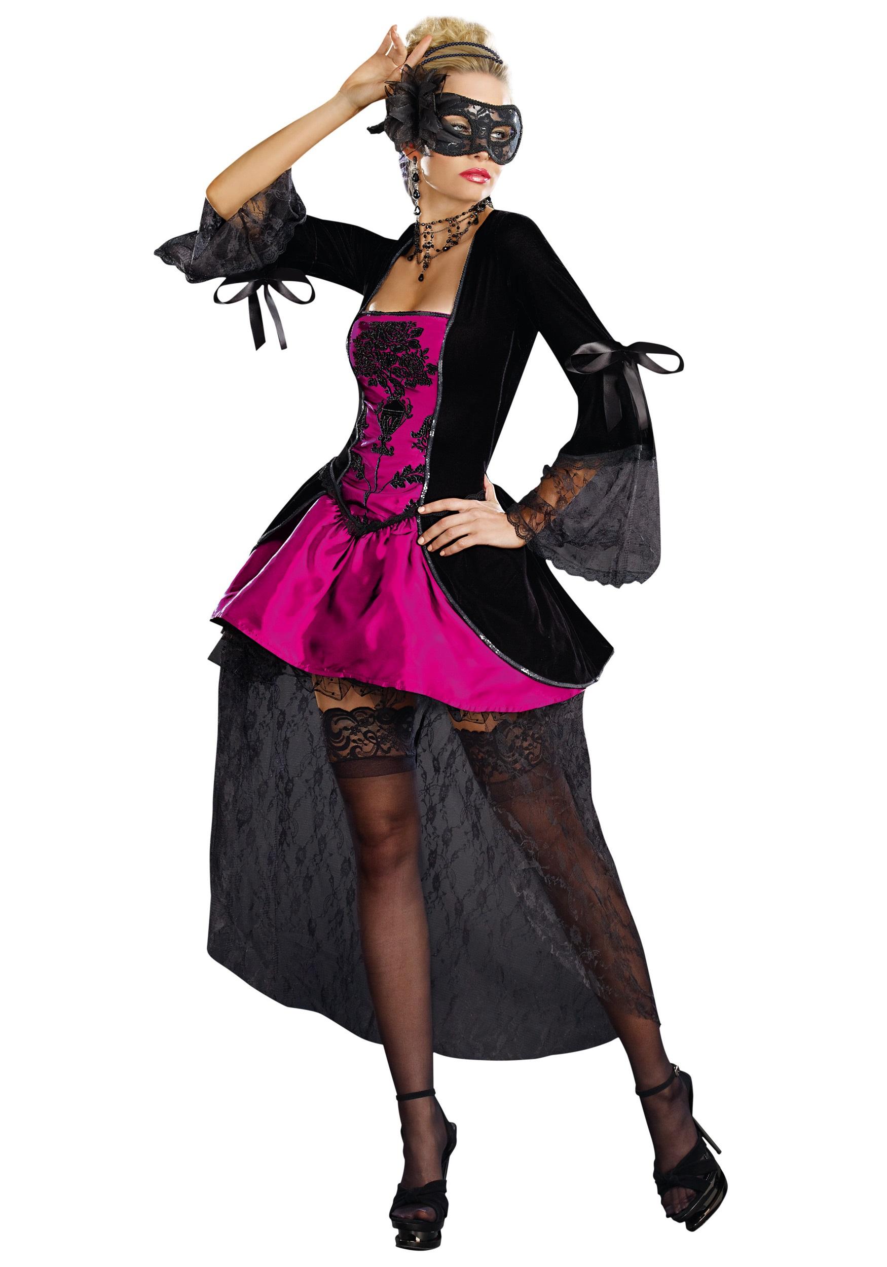 Sexy Venetian Masquerade Costume  sc 1 st  Halloween Costumes & Sexy Venetian Masquerade Costume - Halloween Costumes