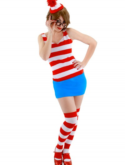 Sexy Waldo Dress Costume, halloween costume (Sexy Waldo Dress Costume)