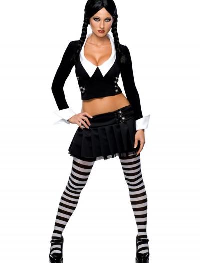 Sexy Wednesday Addams Costume, halloween costume (Sexy Wednesday Addams Costume)