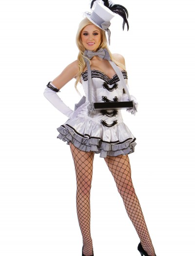 Sexy White Cigarette Girl Costume, halloween costume (Sexy White Cigarette Girl Costume)