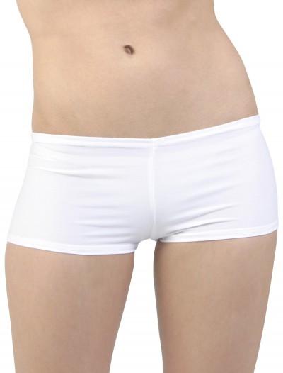 Sexy White Lycra Hot Pants, halloween costume (Sexy White Lycra Hot Pants)