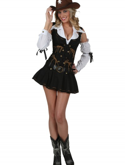 Sexy Wild West Sheriff Costume, halloween costume (Sexy Wild West Sheriff Costume)