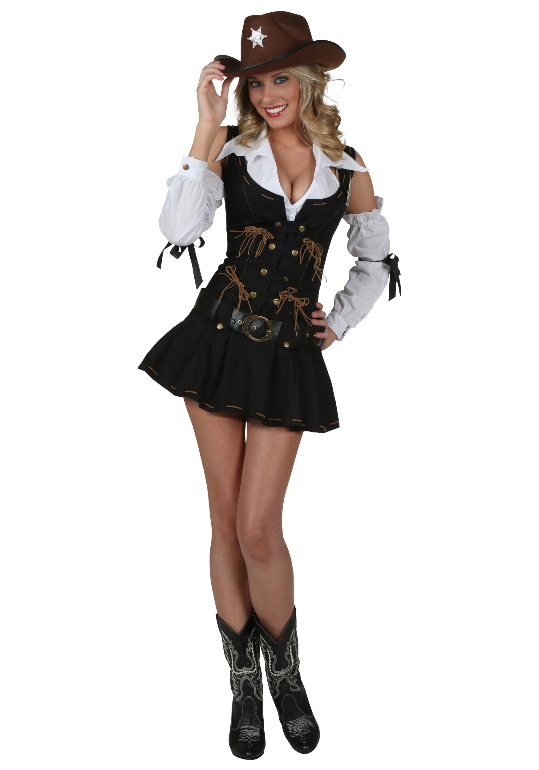 76233e487bcca Sexy Wild West Sheriff Costume