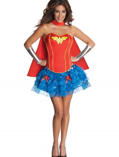 Sexy Wonder Woman Corset Costume, halloween costume (Sexy Wonder Woman Corset Costume)